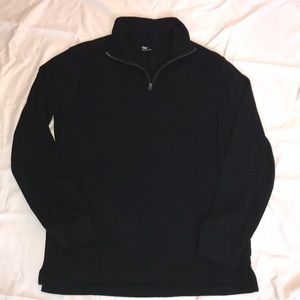1/4 Zip Cotton Pullover by Gap